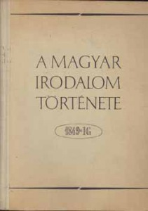 A magyar irodalom története 1849-ig - 900 Ft Kép