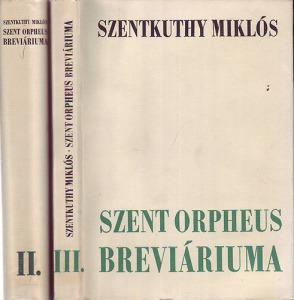 Szent orpheus breviáriuma II-III. (töredék k.)