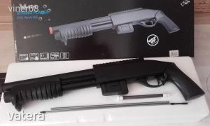 SHOTGUN , airsoft puska, fegyver. ÚJ termék!  Hossza 53,5cm  Ajándék 200db golyó