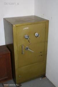 Páncélszekrény Toldi kulcsos páncél széf safe használt