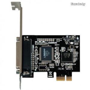 BestConnection PCI-E kártya x1 párhuzamos port IO FG-EMT03B-1-HO01 / SCARDPPCIE1PT