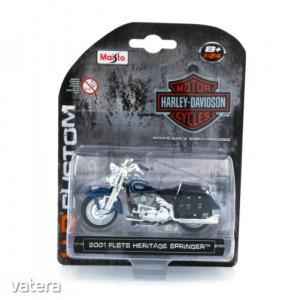 Harley Davidson FLSTS Heritage Springer 2001 1:24