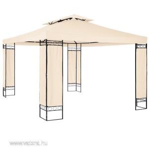 Új 3,9x2,9m-es luxus kerti pavilon sörsátor napellenző terasz fedés party sátor