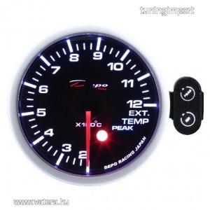 DEPO gauge PK 52mm - kipufogógáz hőmérséklet