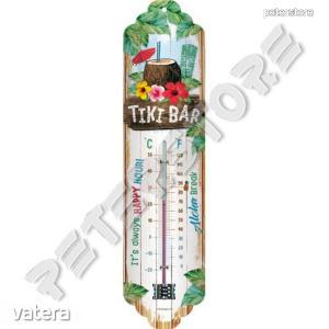 Retró Fém Hőmérő - Tiki Bar