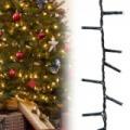 240 LED-es karácsonyi fényfüzér - meleg fehér