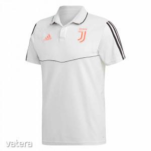 Juventus póló felnőtt galléros Adidas fehér