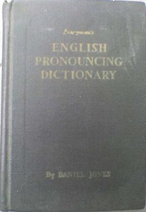 Dainel Jones: English Pronouncing Dictionary