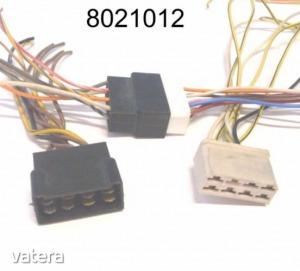 Elektromos csatlakozóház (csoki)  8k pár vezetékkel