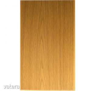 Falburkolat PVC Vilo, matt tölgy, 0,8 x 25 x 265 cm (2,65 m2/csomag)