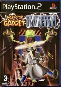 PS2  Játék Inspector Gadget - Mad Robot Invasion