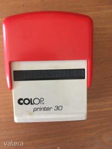 Colop Printer 30 használt bélyegzőház új kék párnával (működik)