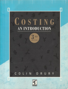 Colin Drury Costing (An Introduction Teacher' Manual)(1994)