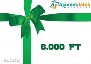 Ajándékutalvány - 6000 Ft