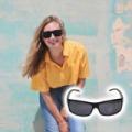 Guards unisex napszemüveg bőr tokkal és törlőkendővel