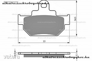 Fékbetét Suzuki Street Bike GZ / LS / TU 125-250-400-650 FD092