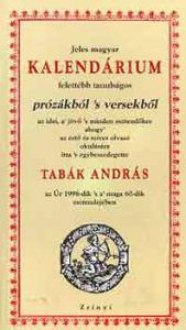 Jeles magyar kalendárium prózákból s versekből