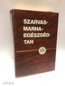 SZERK. DR. HORVÁTH ZOLTÁN - SZARVASMARHA-EGÉSZSÉGTAN - MEZŐGAZDASÁGI KIADÓ - 1983 - ÁLLATTAN