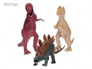 Műanyag dinoszaurusz, több féle, 1 darab