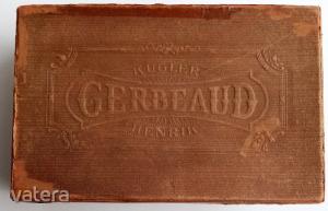 Kugler Gerbeaud  papír doboz-  , 22.5 cm!!!  1910 körüli