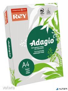 Másolópapír, színes, A4, 80 g, REY 'Adagio', pasztell szürke