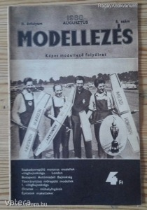 Modellezés folyóirat 1960 / II. évfolyam 8. szám (*79)