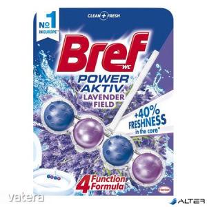 WC illatosító golyók, 50 g, BREF Power Aktiv, levendula
