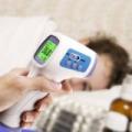 Infra hőmérő, lázmérő, érintésmentes kivitelben