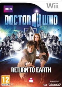 Nintendo Wii Játék Doctor Who - Return to earth