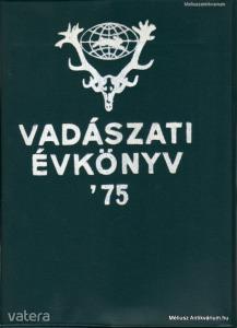 Vadászati évkönyv 1975