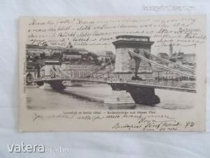 Budapest / Lánczhíd és budai oldal, 1901 (*79)