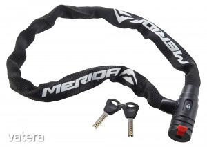 MERIDA Lakat ME láncos 90cm kulcs fekete/fehér ( 2 kulcs), 1050g 2134002662
