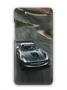 Mercedes mintás Huawei P8 tok hátlap