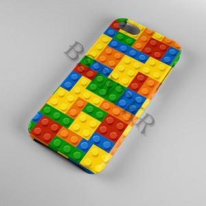 Lego mintás Samsung Galaxy A8 2018 tok hátlap tartó