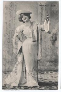 Kápolnay Irén, színészlap, 1903