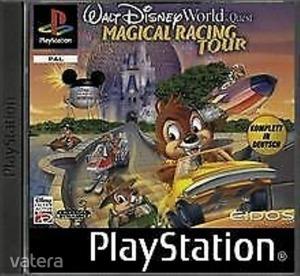 PS1  Játék Walt Disney Magical Racing Tour - A