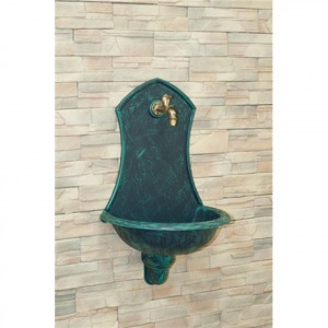 SIENA falikút Antikolt zöld