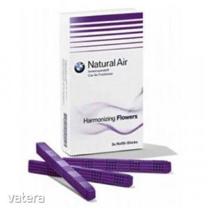 Gyári BMW Natural Air utastér illatosító - légfrissítő utántöltő stick Harmonizing Flowers 831222...