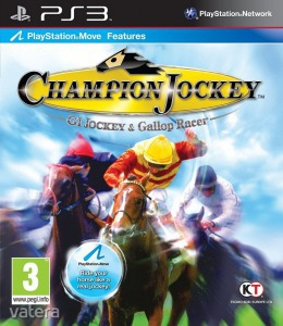 PS3  Játék Champion Jockey: G1 Jockey & Gallop Racer