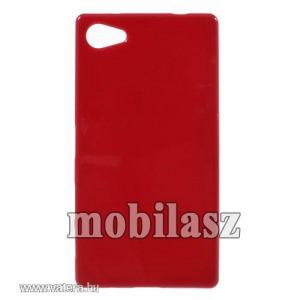 Szilikon tok, Sony Xperia Z5 Compact (E5823), Piros