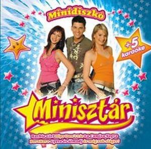 MINISZTÁR - Minidiszkó CD