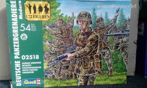 Revell 1:72 katonai figurák