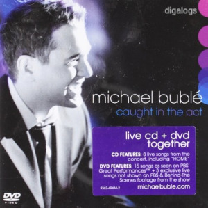 Michael Buble Caught In The Act CD+DVD Új!