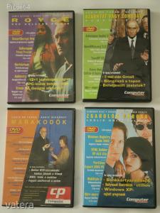 Számítógépes DVD 4 db egyben