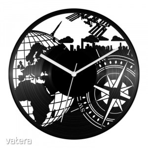 Földrajz tanár bakelit óra