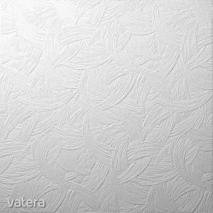 Álmennyezeti lap, F Zagreb, fehér, 50 x 50 cm