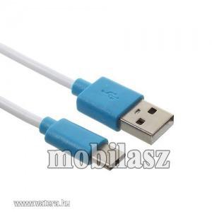 PINZUN 2A adatatátviteli kábel, USB töltő, USB - USB Type-C, Kék
