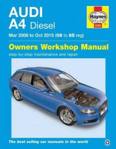 Audi Javítási kézikönyv, audi a4 diesel (2008-2015) - 10990 Ft Kép