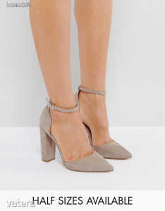 ASOS PENALTY Pointed High Heels Sandal