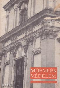 MŰEMLÉKVÉDELEM - XXIX. évf., 1985/1.